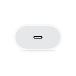 Зарядно устройство ( оригинален Заместител ) , iPhone 11 Pro, 1xType-C PD, 5V/3.0A, + Кабел Type-C към Lightning , 1.0m, Бял