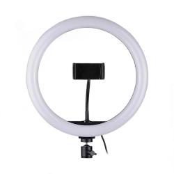 LED Ring Осветление 33см, 25W ( 1 скоби за телефон )