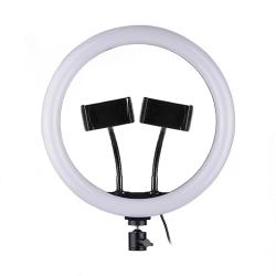 LED Ring Осветление 33см, 25W (  2 скоби за телефон )