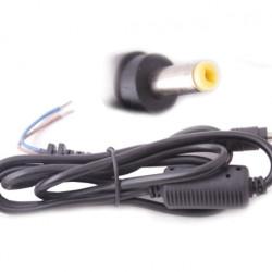 Захранващ кабел с букса за лаптопи HP, 4.8 x 1.4mm, 1,2m