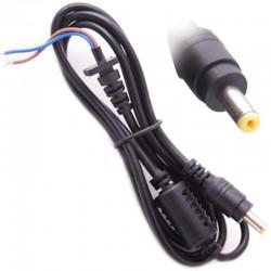 Захранващ кабел с букса за лаптоп, 3x1mm, 1m