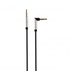 Аудио кабел, Г-образен , Earldom AUX21, 3.5mm жак, М/М, 1.0м