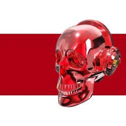 BLUETOOTH КОЛОНКА ЧЕРЕП ONEDER SKULL ( Червена )