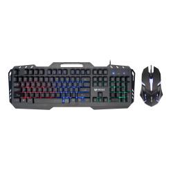 Гейминг комплект Мишка и Клавиатура RGB Mixie X8000