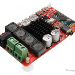 Усилвател със вграден bluetooth 4.0 Чип TDA 7492 ( 2 Х 50 вата ; DC 8 ~ 25V волта )