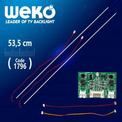"""LED Ленти 24 - 42 """" инча със драйвер за Монитори и Телевизори ( 53.5 см. Универсални )"""