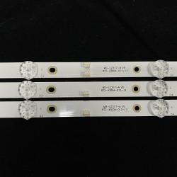 LED Подсветка за Китаиски модели  MS-L2317-A-V5 ( 3 Ленти по 8 диода - двоен пин )