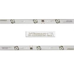 LED Комплект CRH-A323030020764F-REV1.0 I ( Тип крива / 7 диода )