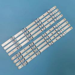 LED Комплект  LG 40 ''инча Оригинален заместител ( 8 ленти 4 диода / 4А-4B )