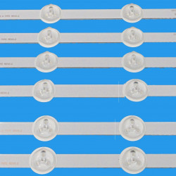 """LED Комплект Vestel 42"""" инча  Оригинални заместители  ( 4хА ленти/6диода, 2хБ със по 6 диода /  ves420undl-2d-n03 )"""