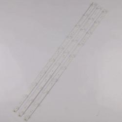 """LED Комплект 32 """" инча JL.CX32101235B1 180-W00-32000 D8A6(3.7-3.9V 70-721M A6) ( 3 ленти по 10 диода 2 волта )"""