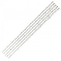 """LED Комплект за Philips 43"""" инча ( 5 ленти 12 диода GJ-2K16-430-D512-V4 )"""