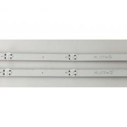 LED Комплект LG 32 инча  HD_LF51 S ( две ленти с по 5 диода ) 59 см.