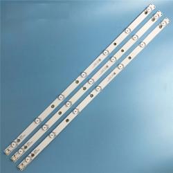 LED Комплект 32 PHILIPS TPV-TPT315B5  Оригинални (По 7 диода 62,5см) LBM320P0701-FC-2