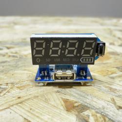 Модул Mp3 USB/SD/bluetooth/radio/Aux ( за караоке колони за вграждане )