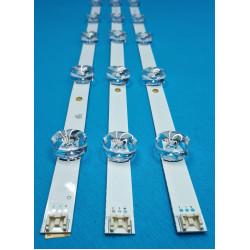 LED Комплект LG 32'' инча  AGF78399801 ( 6 диода / 6 волта - големи лупи  ) Оригинален Заместител