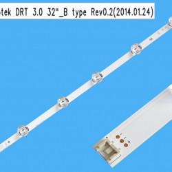 LED Комплект LG 32 Оригинален  ( 6 диода /6 волта - големи лупи )