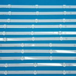 LED Комплек LG 47'' инча ROW2.1 REV 0.7 Оригинални заместители ( 12 ленти 3x L1, 3x L2, 3x R1, 3x R2 )